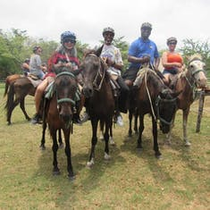 Belize City, Belize - Horseback Riding & EcoPark