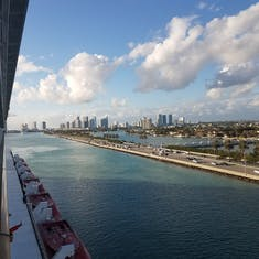 Sailaway from Miami
