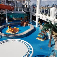 Small children splash area
