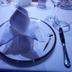 Flower Napkin Origami