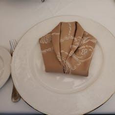 Dinner Jacket Napkin Origami