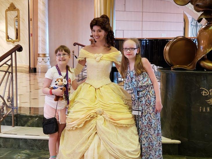 Princess meet and greet - Disney Fantasy