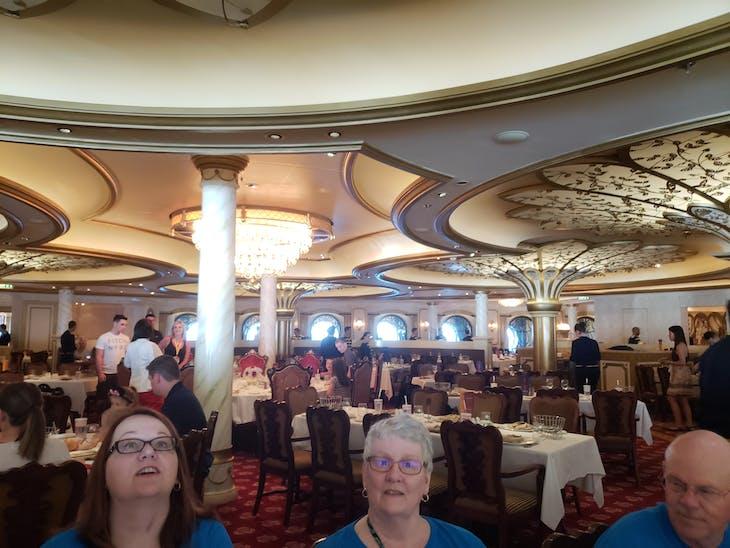 Embarkation Night Dinner - Disney Fantasy