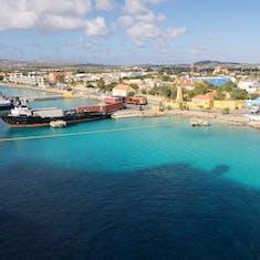 Arriving at Bonaire