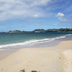 Castries, St. Lucia - Trolley Train Tour - Beach Stop
