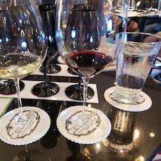 Black Glass Blind Wine Tasting