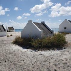 Kralendijk, Bonaire - White Slave Huts