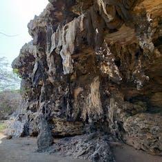 Kralendijk, Bonaire - Onima Indian Inscriptions
