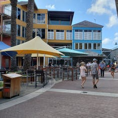 Willemstad, Curacao - Water Fort Shopping Area