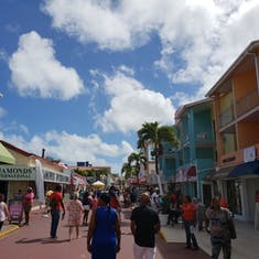 St. John's, Antigua - St John's port area