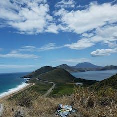 Basseterre, St. Kitts - Atlantic Ocean and Caribbean Sea