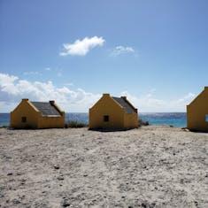 Kralendijk, Bonaire - Orange Slave Huts
