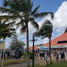 Castries, St. Lucia - Castries port area
