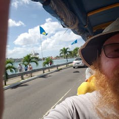 Castries, St. Lucia - Trolley Train Tour