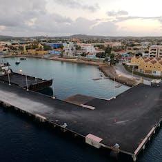 Kralendijk, Bonaire - Arriving at Bonaire