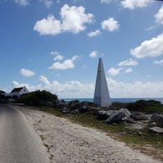 Kralendijk, Bonaire - White Obelisk