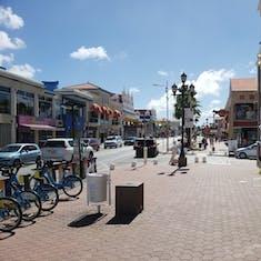 Oranjestad, Aruba - Oranjestad port shopping area