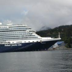 In port at Sitka