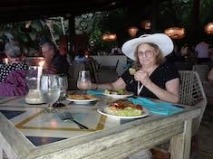 Candle lit dinner on the beach. Rhythms of the Night, Puerto Vallarta.