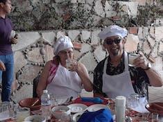 Margaritas and salsa making in Mazatlan
