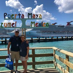 Fun day in Cozumel