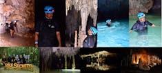 The Amazing Secret River excuriosn deep underground in a cavernous underground river