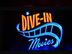 I love going to the Dive In theater.
