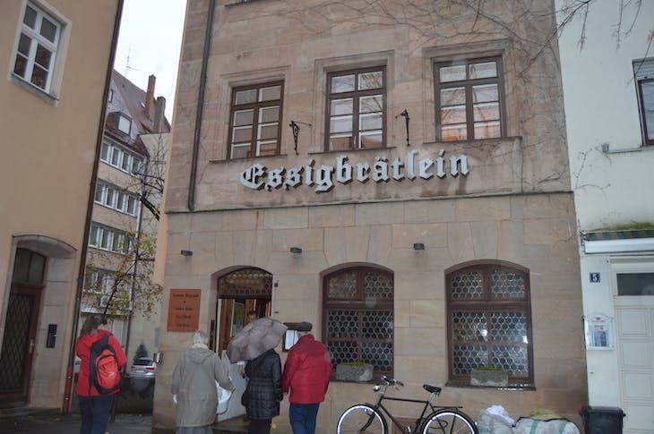 Nuremberg - Lunch at Michelin Star Restaurant -Essigbratlein - Viking Jarl