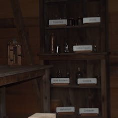 Slave Quarters and Clinic combined