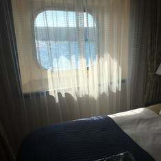 Oceanview Stateroom - Before Renovation