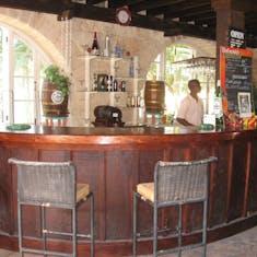 Bar at FourSquare Rum distillery Barbados
