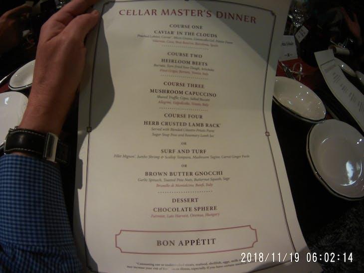 Celebrity Summit, Dining, Cosmopolitan Restaurant