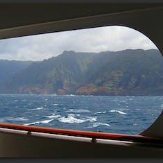 Cruising along the Kauai Coast