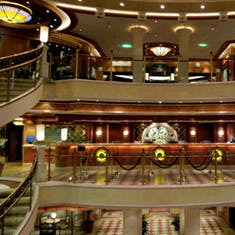 Onboard the Crown Princess