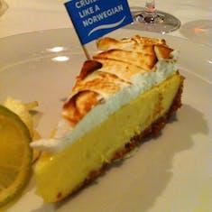 Key lime pie was fantastic - Manhattan Dining Room