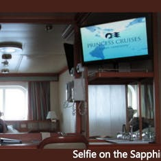 On board the Sapphire