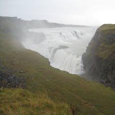 Waterfalls everywhere in Iceland.