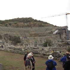 Kusadasi (Ephesus), Turkey - Ephesus Turkey--Theatre where Apostle Paul was involved in a riot.