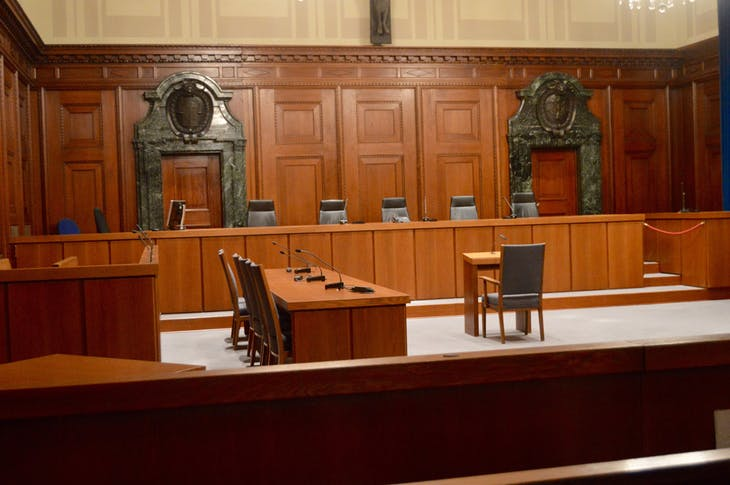 Nuremberg - Inside Courtroom 600 - Viking Jarl
