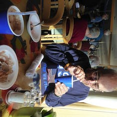 Ice Cream Party with Robert - Distinctive Voyages