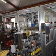 Morwald Winery Bottling Line