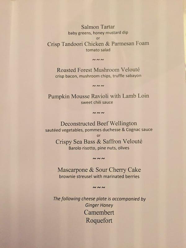 Dinner Menu Page 2 - Viking Jarl