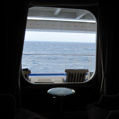 Deck 7 from inside ship