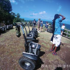 Castries, St. Lucia - Scenic Segway Stop