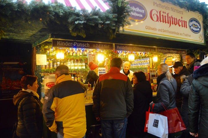Gluhwein at Nuremberg Christmas Market - Viking Jarl