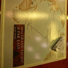 Ship's Route