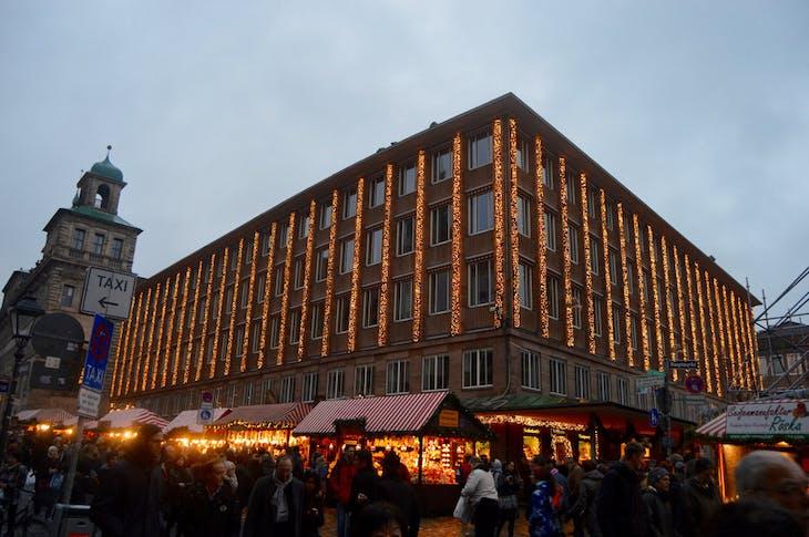 Nuremberg Christmas Market and City Hall - Viking Jarl