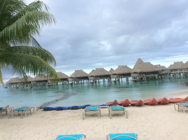 Moorea, French Polynesia - Greetings from Morea!  I am here in Paradise.
