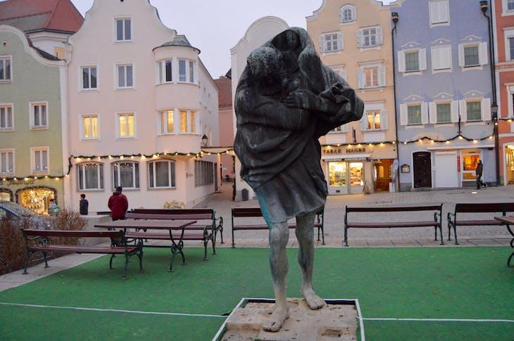 Sharding, Austria - St. Christopher Statue - Viking Jarl
