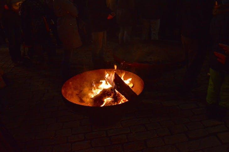 Fire Pit in Sharding, Austria - Viking Jarl